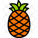 Pineapple Food Eating Icon