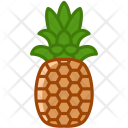 Pineapple Fruit Fit Icon