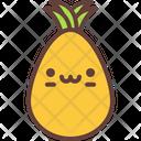 Pineapple Nature Fresh Icon