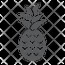 Pineapple Ananas Fruit Icon