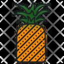 Nanas Fruit Healthy Icon