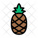 Pineapple Fruits Food Icon