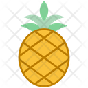 Summer Pineapple Tropical Icon