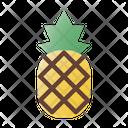 Pineapple Fruit Vitamins Icon