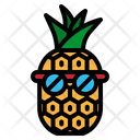 Pineapple Fruit Tropical Icon