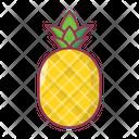 Pineapple Fruit Food Icon