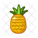 Pineapple Fruits Fruite Icon