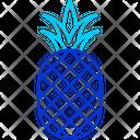 Pineapple Ananas Tropical Icon