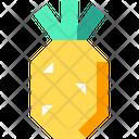 Ananas Pineapple Food Icon