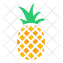 Pineapple Tropical Fruit Icon