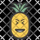 Pineapple Emoji Fruit Emoticon Emotion Icon