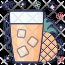 Pineapple Juice Icon