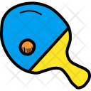 Ping Pong Paddle Icon