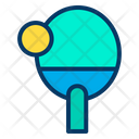 Paddle Pickle Ball Paddle Icon