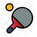 Ping Pong Ball Field Icon