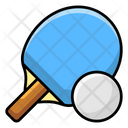 Ping Pong Table Tennis Summer Olympics Icon