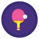 Ping Pong Table Tennis Game Icon