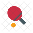 Ping Pong Racket Icon