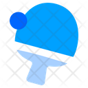 Ping Pong Table Tennis Racket Icon