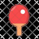 Ping Pong Table Tennis Ball Icon