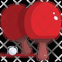 Ping Pong Ping Pong Racket Racket Icon