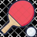 Ping Pong Table Tennis Tennis Icon