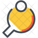 Pingpong Fittness Sport Icon