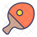 Paddle Ball Play Icon
