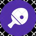 Pingpong Paddle Ball Icon