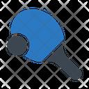Pingpong Racket Game Icon