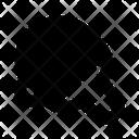 Pingpong Racket Ball Icon