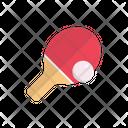 Pingpong Game Racket Icon