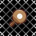 Pingpong Tabletennis Racket Icon