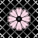 Pink Cosmos Petals Blossom Icon