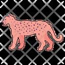 Pink Panther Jaguar Animal Icon