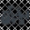 Pino Tandem Bicycle Icon