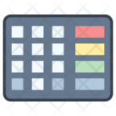 Pinpad Pincode Keyboard Icon
