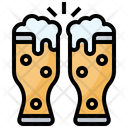 Pint Of Beer Pint Mug Icon