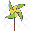 Windmill Pinwheel Paper Windmill Icon