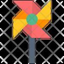 Pinwheel Toy Children Toy Icon