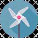 Pinwheel Whirligig Windmill Icon