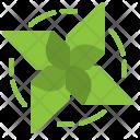 Pinwheel Ecology Wind Icon