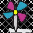 Pinwheel Paper Craft Kids Pinwheel Icon