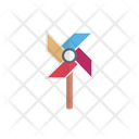 Pinwheel Toy Fan Icon