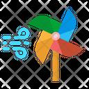 Pinwheel Windmill Wind Icon