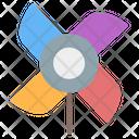 Pinwheel Pinwheels Toy Windmill Icon