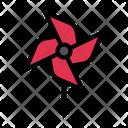 Pinwheel Spring Season Icon