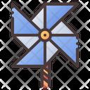 Pinwheel Wind Turbine Icon