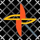Pinwheel Toy Play Icon