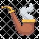 Chill Pipe Smoke Icon